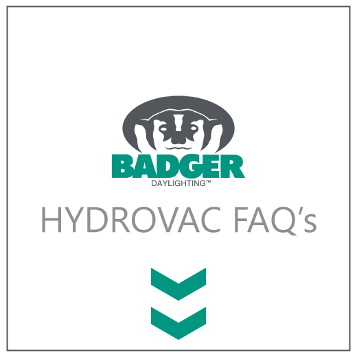 Badger Daylighting™ Hydrovac Truck Excavating Services